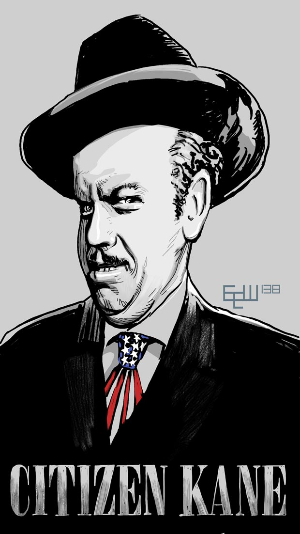 ERIK WEEMS ART Citizen Kane Art