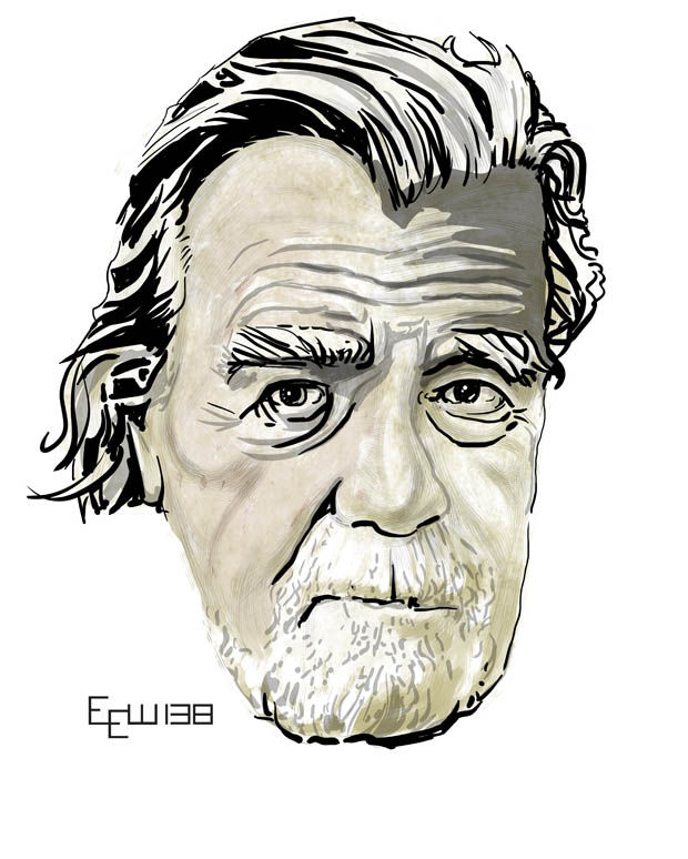Michael Lonsdale art - ERIK WEEMS ART
